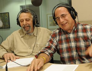 The icons of Car Talk, Tom and Ray Magliozzi