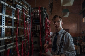 Benedict Cumberbatch in The Imitation Game.  No, that is not Sherlock Holmes.