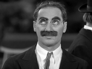 Groucho--This face will live forever