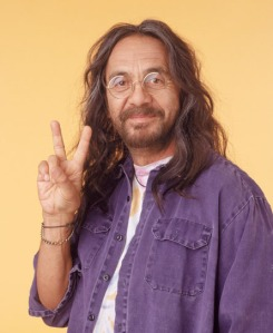 Tommy Chong.  Cosmic is as cosmic does.