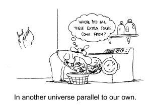 That's where they go!  www.cartoonstock.com